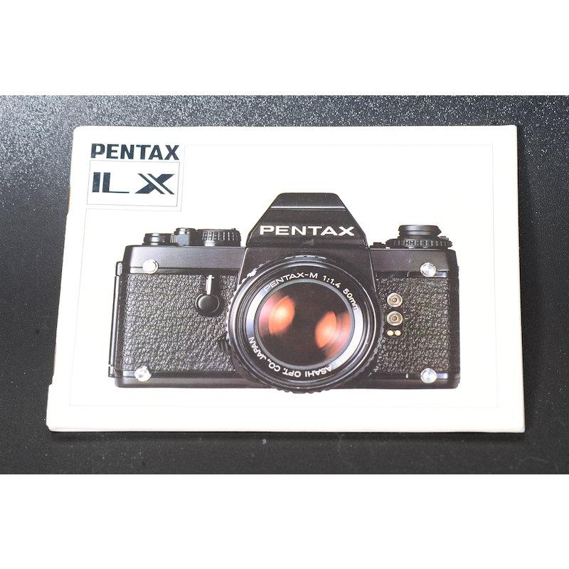 Pentax Anleitung LX (Englisch)
