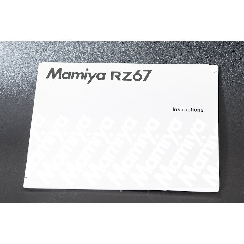 Mamiya Anleitung RZ67 (Englisch)