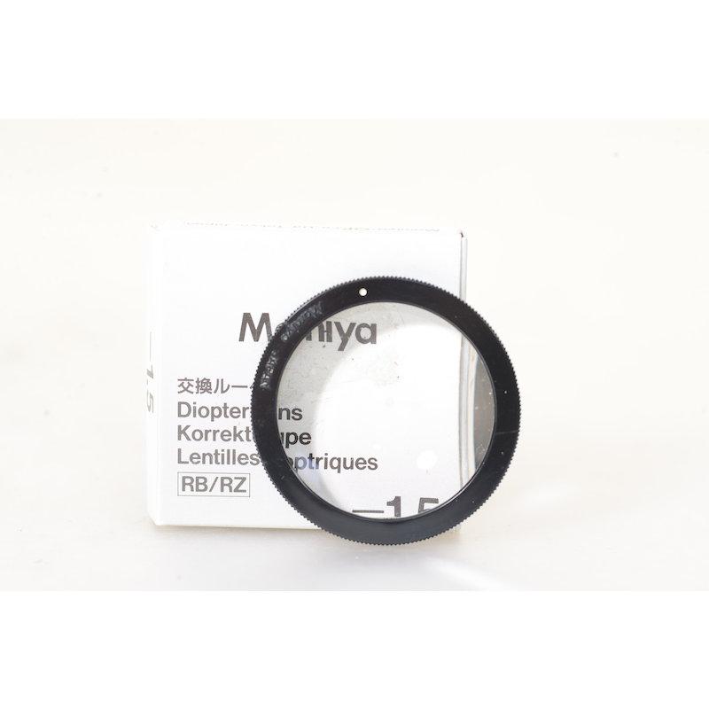 Mamiya Augenkorrekturlinse LS -1,5 RB67/RZ67 #514574