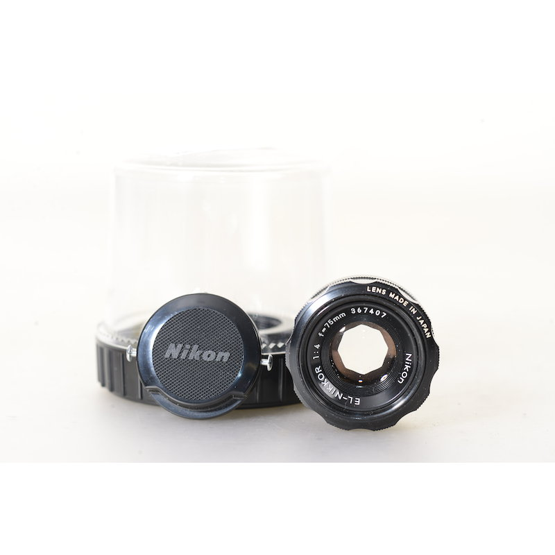 Nikon EL-Nikkor 4,0/75 M39