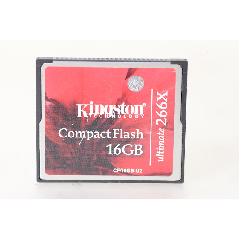 Kingston Compact-Flash Karte 266x 16GB