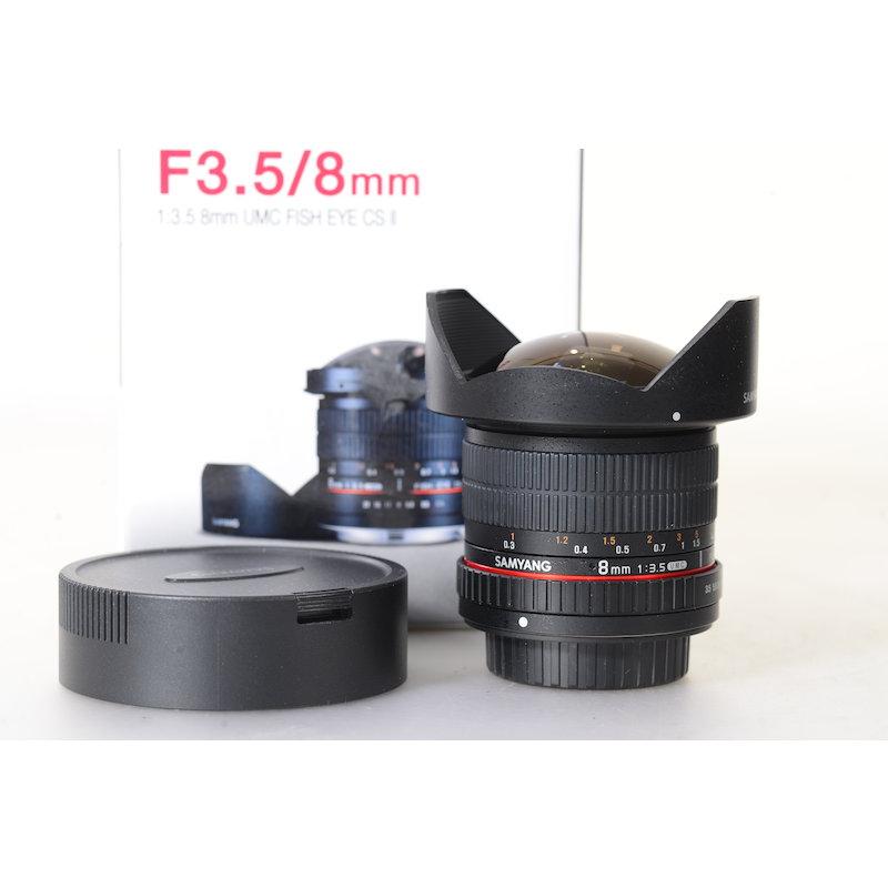 Samyang UMC 3,5/8 DG Fisheye CS II Pro Sony