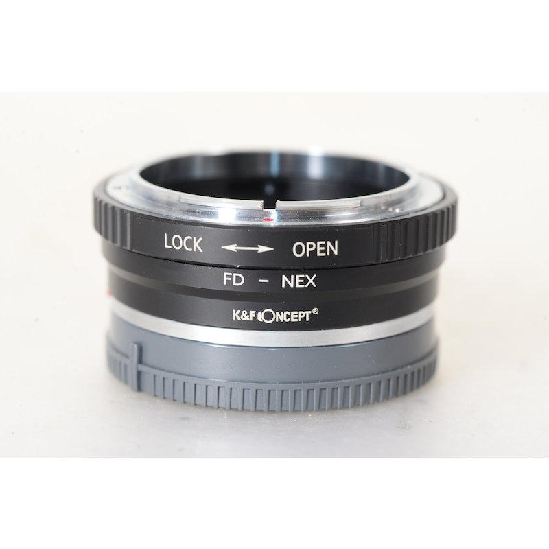 OEM Canon FD Objektivadapter Sony Nex