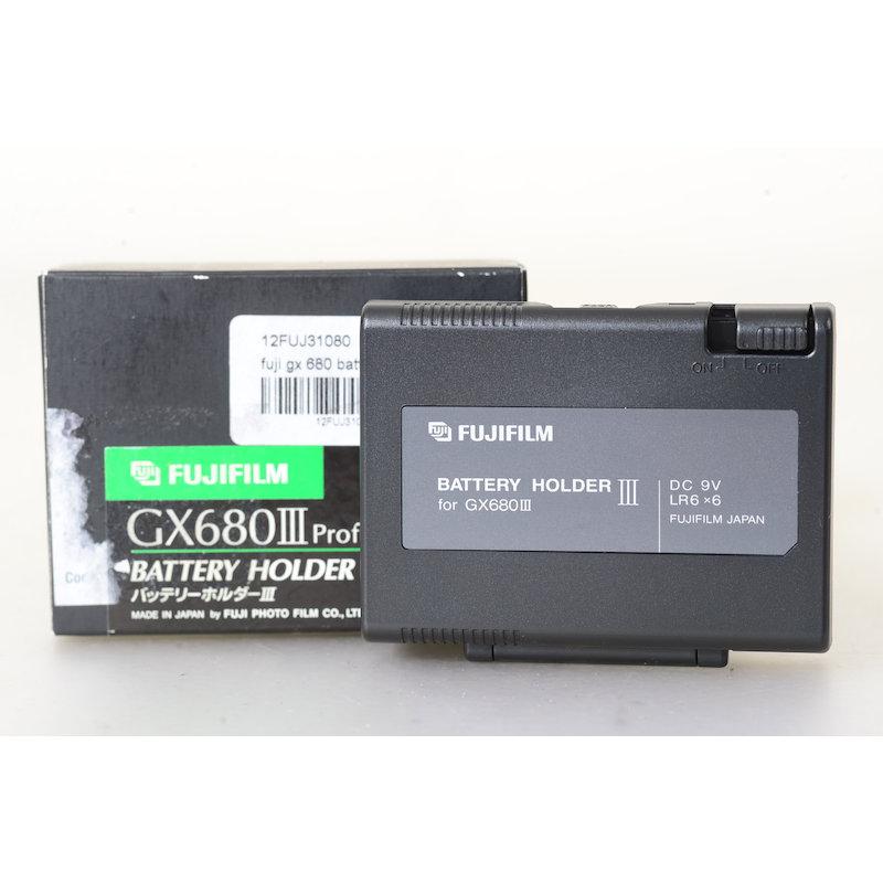Fuji Batteriehalter III GX680 III