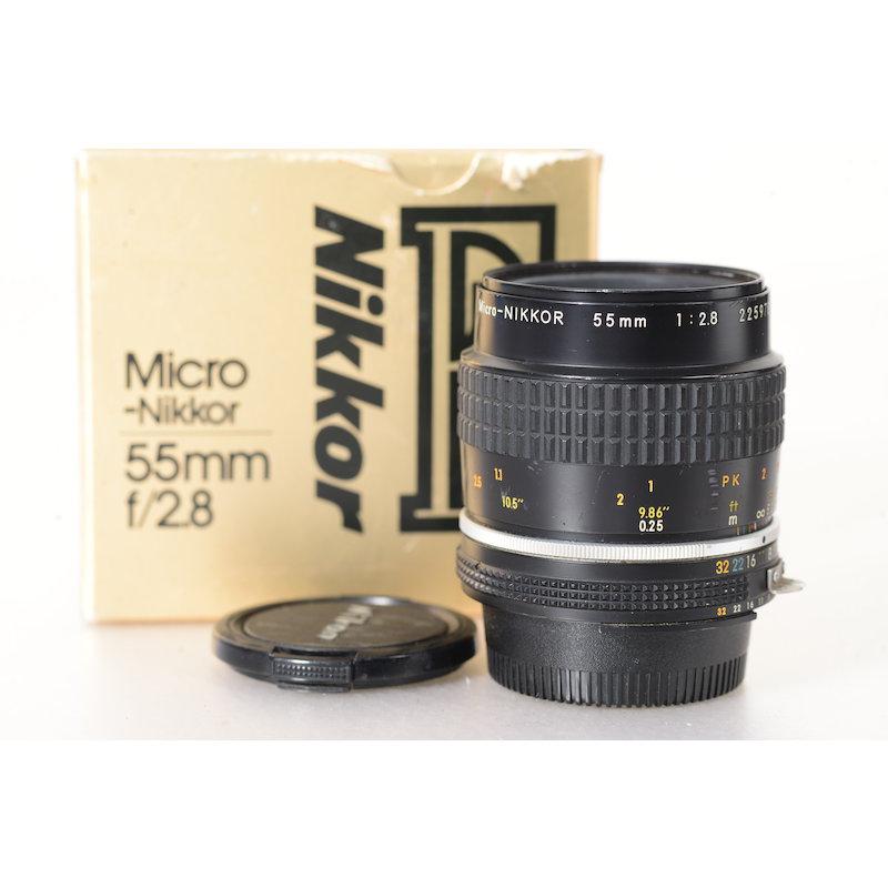 Nikon Ai/S 2,8/55 Micro #JAA616AB