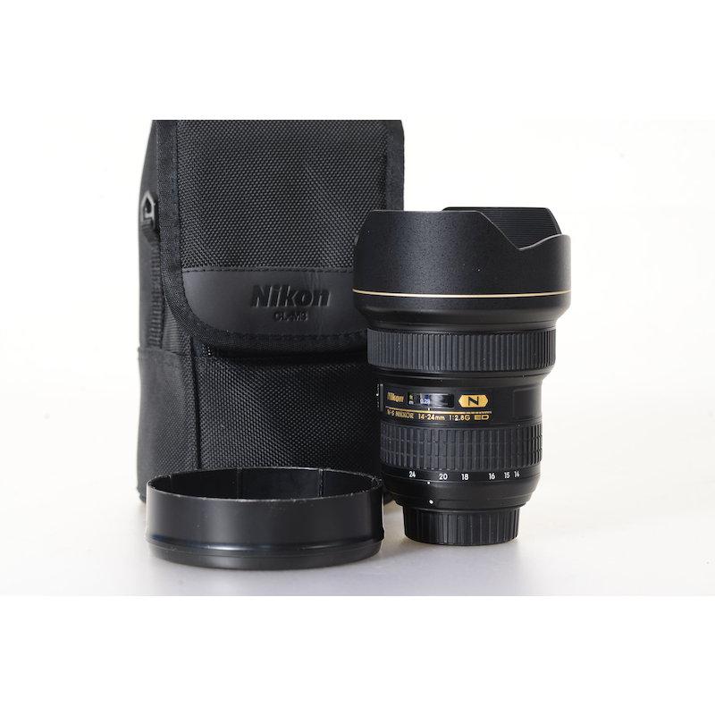Nikon AF-S 2,8/14-24 G ED #JAA801DA
