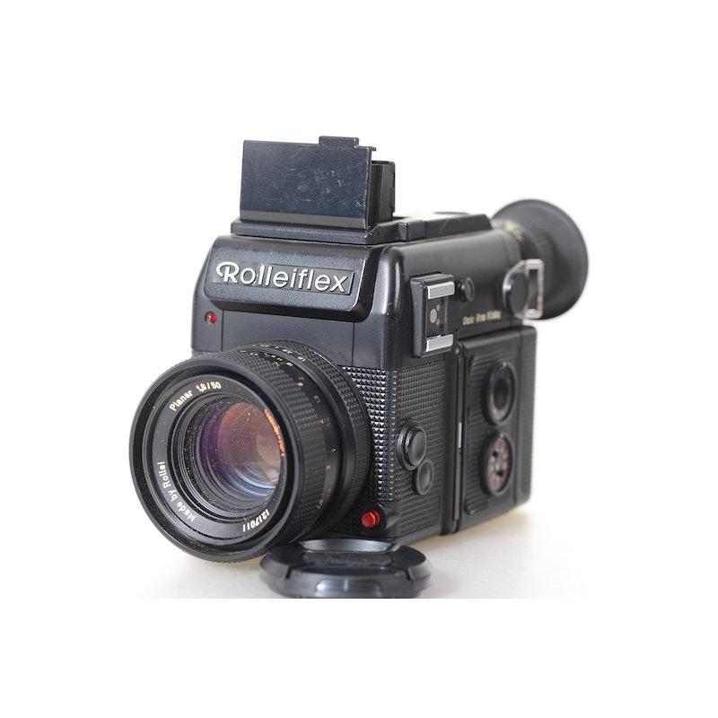 Rollei SL-2000 F+Magazin+Planar HFT 1,8/50