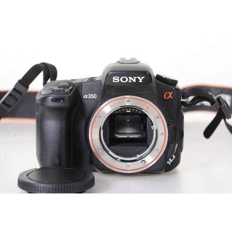 Sony Alpha 350 (Ersatzteillager)