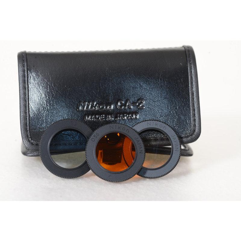 Nikon Filtertasche CA-2+3x Filter (Ai/S 2,8/16)