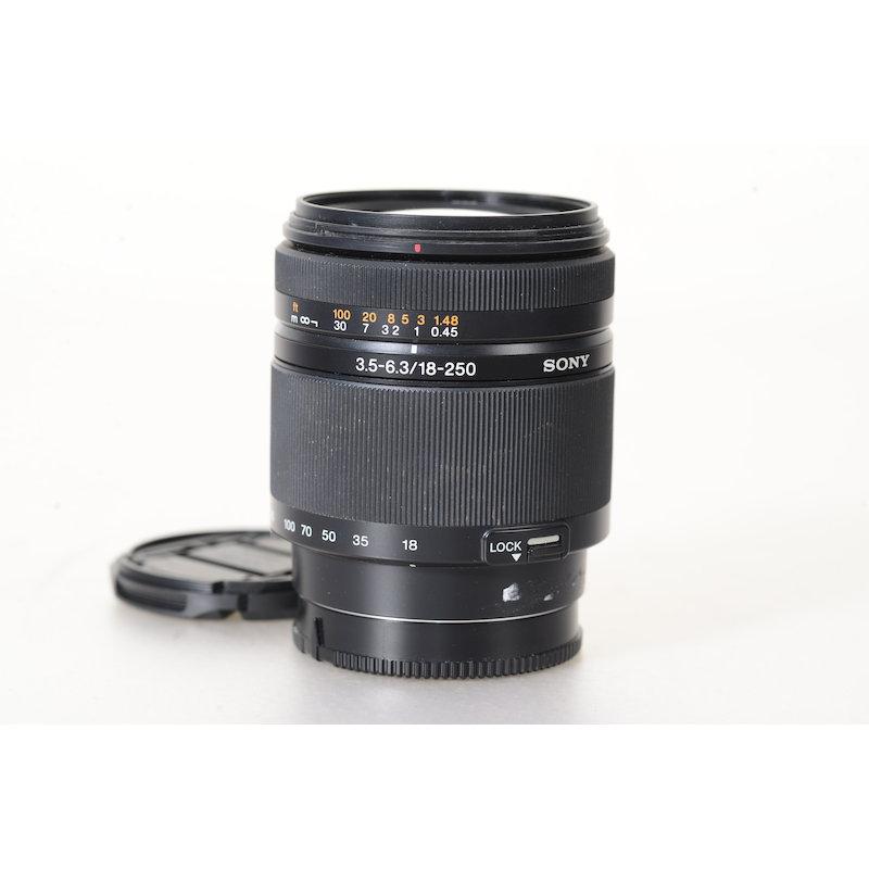 Sony DT 3,5-6,3/18-250 #SAL18250.AE (Brennweitenverstellung Defekt)