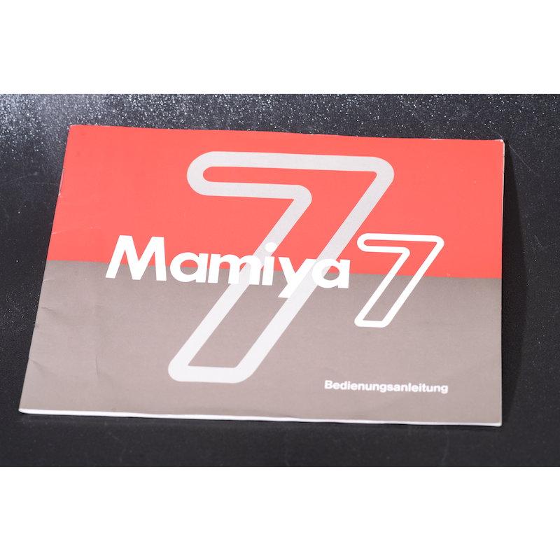 Mamiya Anleitung M7