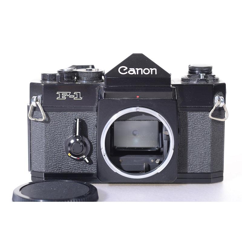 Canon F-1 (Batterieschraube fehlt)