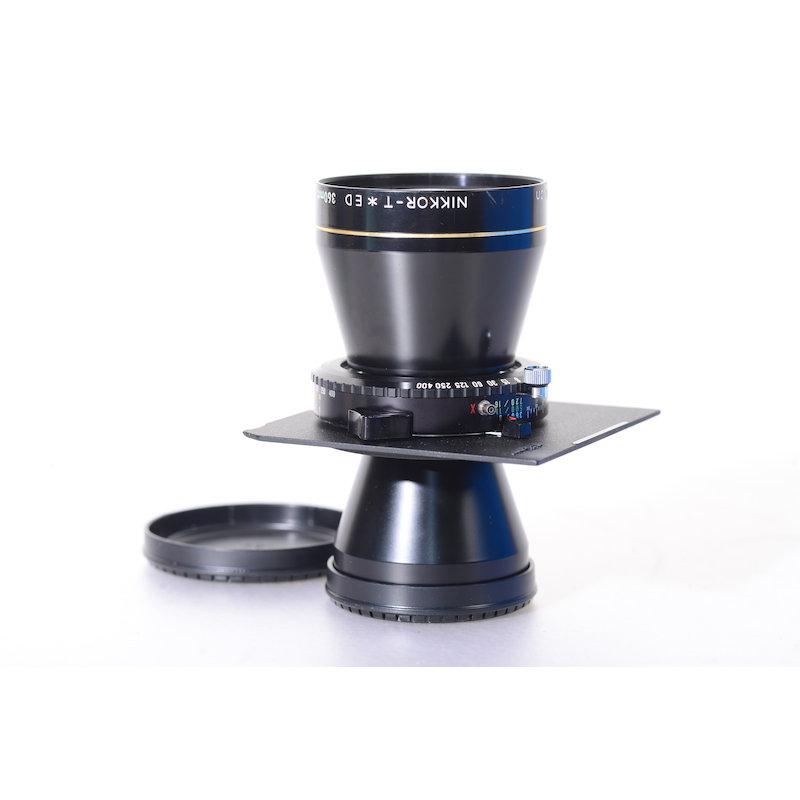 Nikon Nikkor-T 8,0/360 ED Copal 1+ 96x99 Nikon Platte (Linhof Technika)