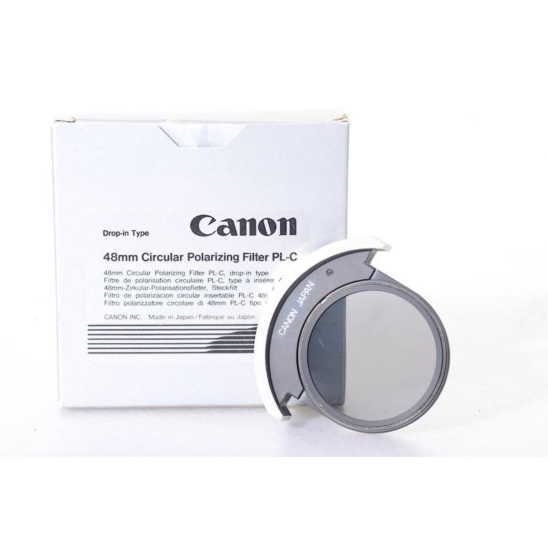 Canon Polfilter Zirkular Einsteckfilter PL-C 48