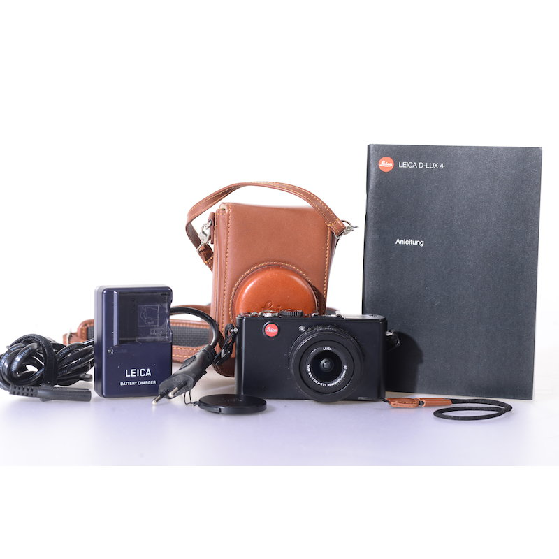 Leica D-Lux 4 Black