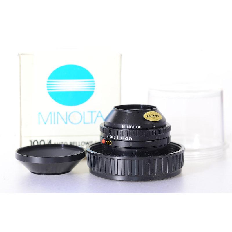 Minolta Auto-Makrokopf 4,0/100