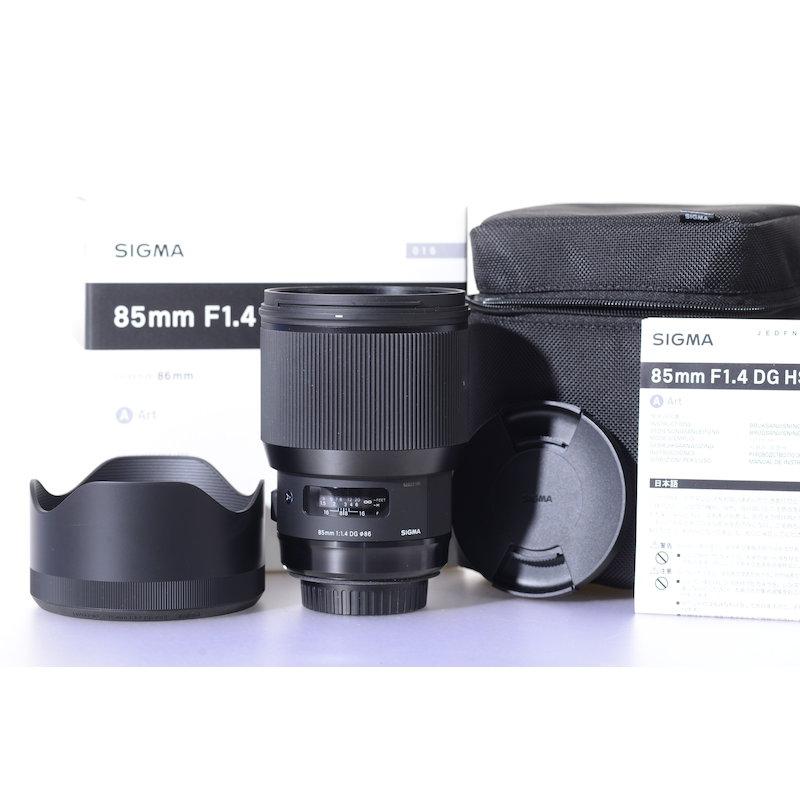 Sigma ART 1,4/85 HSM DG C/EF