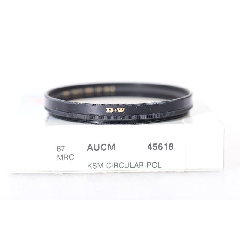 B+W Polfilter KSM Zirkular MRC XS-Pro Digital E-67 #45618