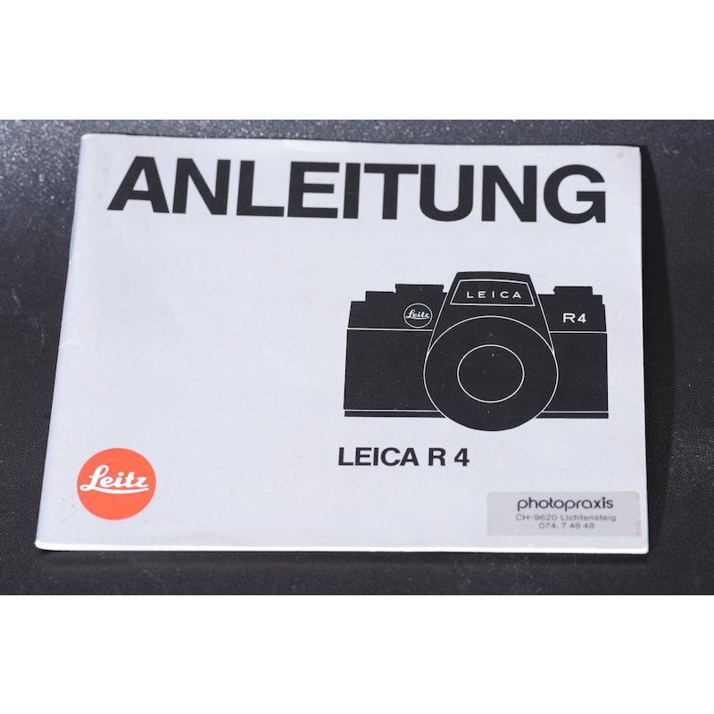 Leitz Anleitung Leica R4 255