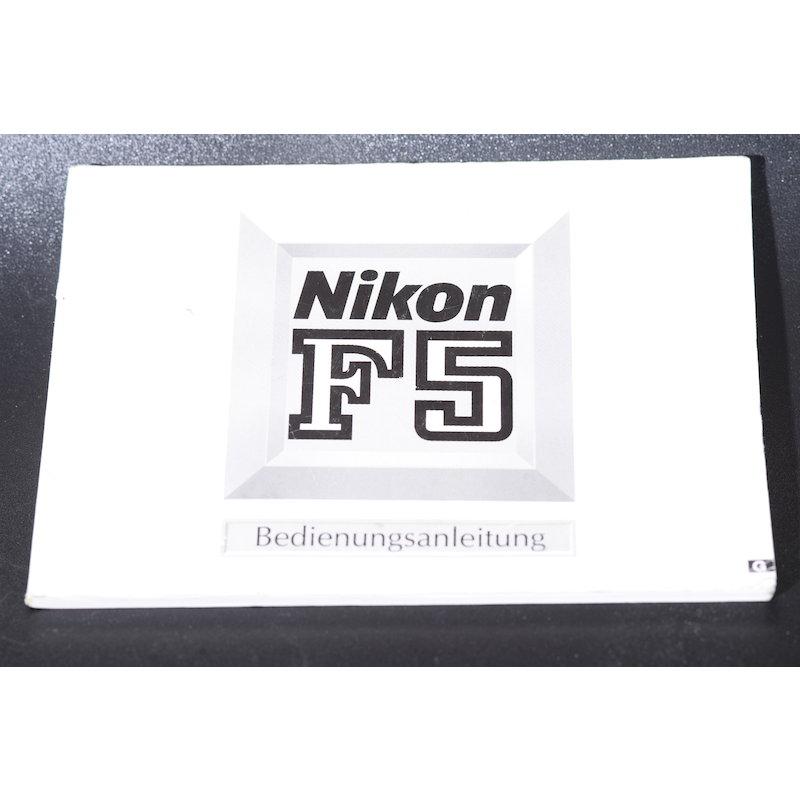 Nikon Anleitung F5