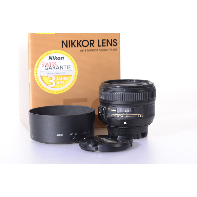 Nikon AF-S 1,8/50 G #JAA015DA