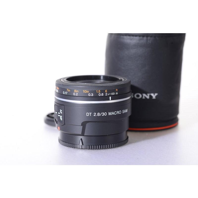 Sony DT 2,8/30 Makro SAM #SAL30M28