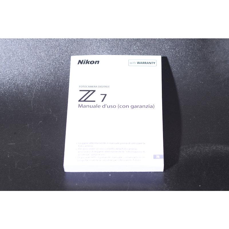 Nikon Anleitung Z7 (Italienisch)