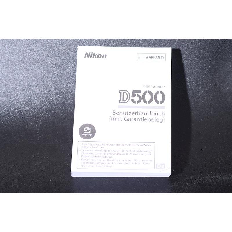 Nikon Anleitung D500