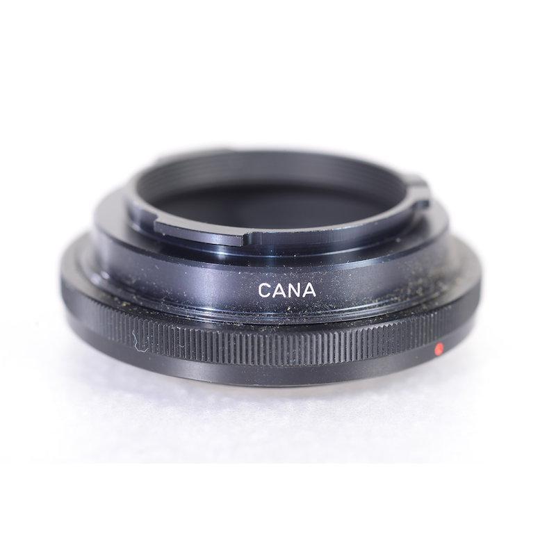 Novoflex Anschlußring Canon FD CANA