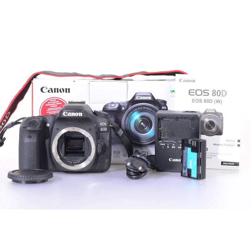 Canon EOS 80D (1286 Auslösungen)