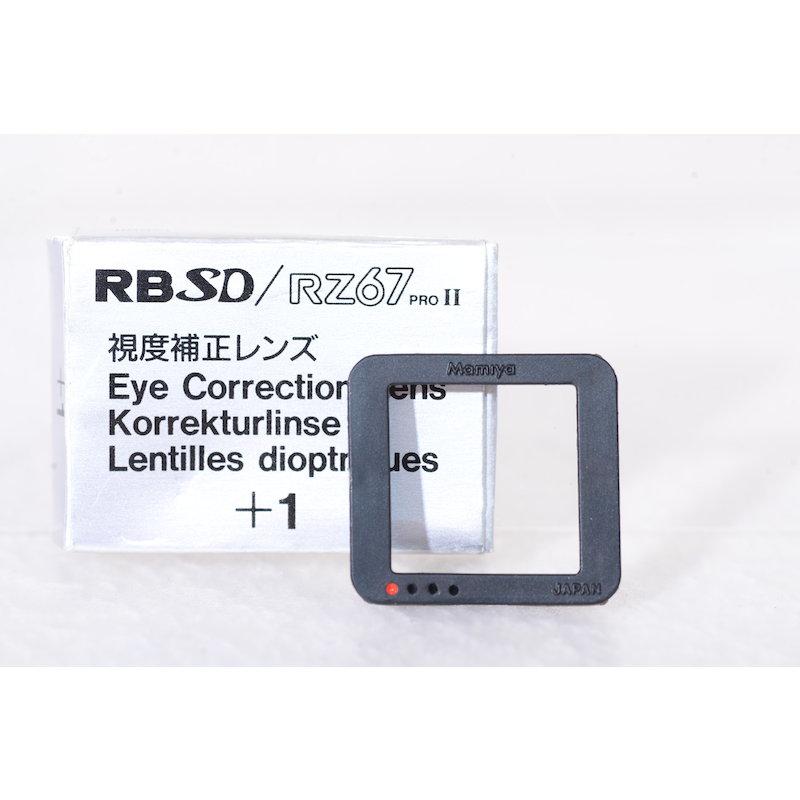 Mamiya Augenkorrekturlinse +1 RB67 SD/RZ 67 II #514583