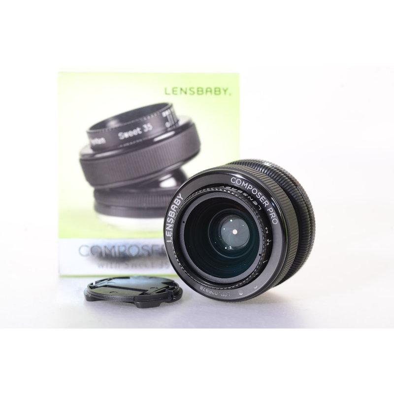 Lensbaby Composer Pro mit Sweet 35 LBCP35N Nikon