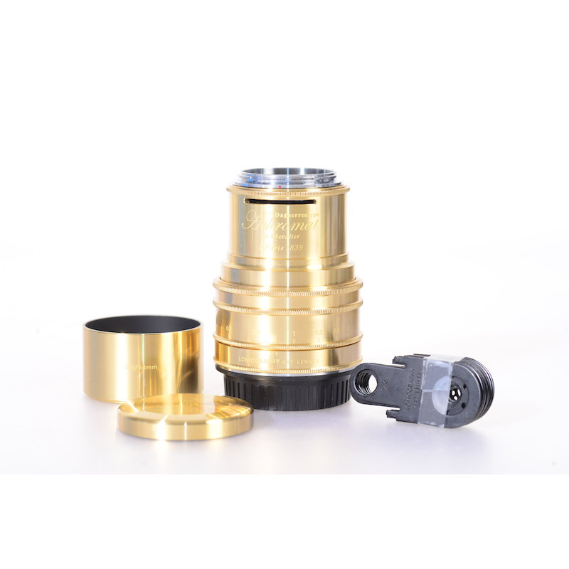 Lomography Daguerreotype Achromat 2,9/64 ART-Lens Messing C/E