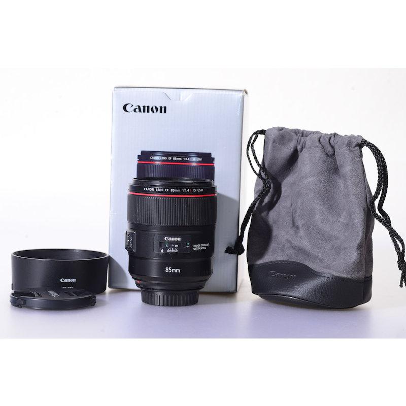 Canon EF 1,4/85 L IS USM (Kratzer Frontlinse)