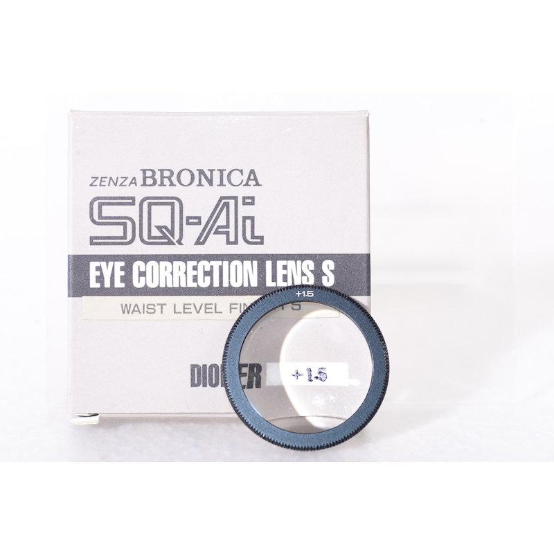Bronica Augenkorrekturlinse Lichtschacht +1,5 SQ-Ai