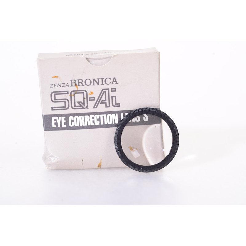 Bronica Augenkorrekturlinse Lichtschacht +0,5 SQ-Ai