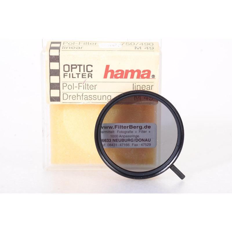 Hoya Polfilter Linear E-49 #750/490