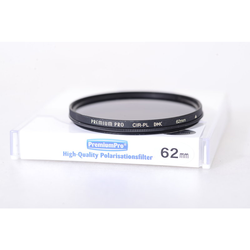 Premiumpro Polfilter Zirkular DMC E-62 (Delle Aussengewinde)