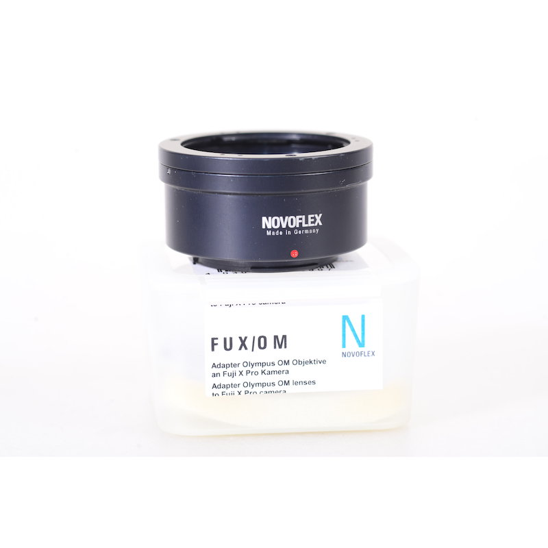 Novoflex Olympus OM Objektivadapter Fuji-X FUX/OM