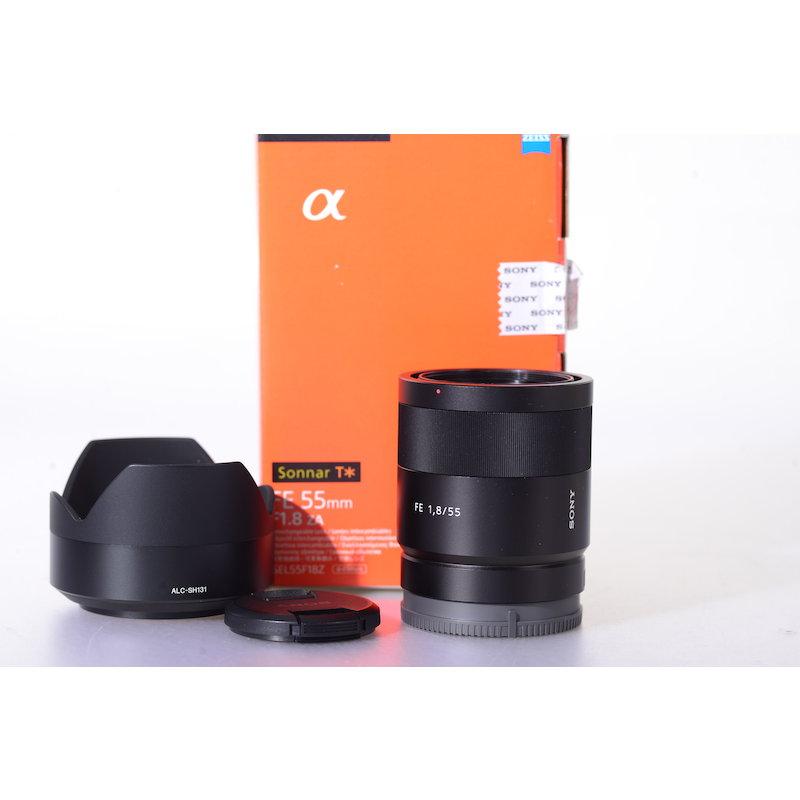 Sony Sonnar FE 1,8/55 ZA E-Mount #SEL55F18Z.AE