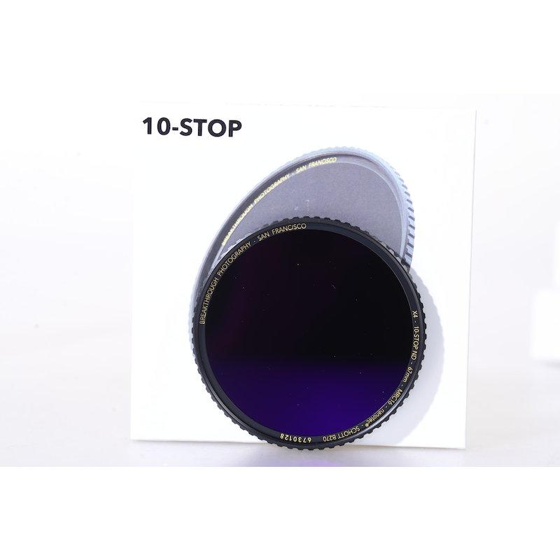 Breakthrough Graufilter ND MRC 10-Stop E-67 #X4-ND10-67MM