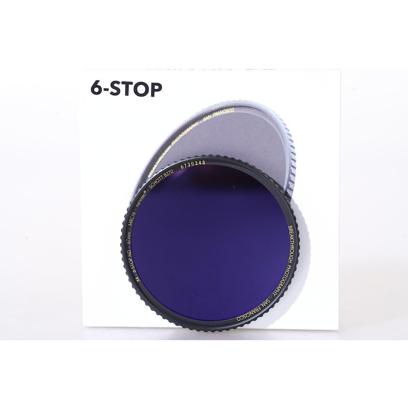 Breakthrough Graufilter ND MRC 6-Stop E-67 #X4-ND6-67MM