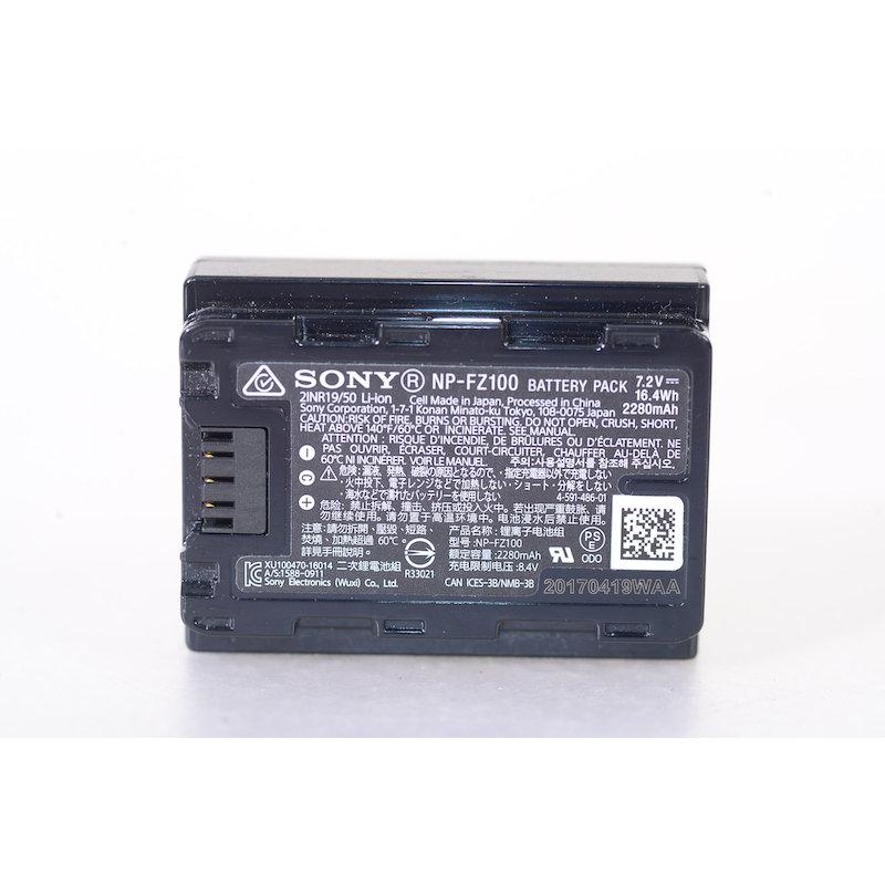 Sony Lithium Ion Akku 7,2V/16,4Wh NP-FZ100