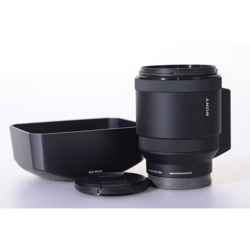 Sony E 3,5-6,3/18-200 OSS Power Zoom E-Mount #SELP18200