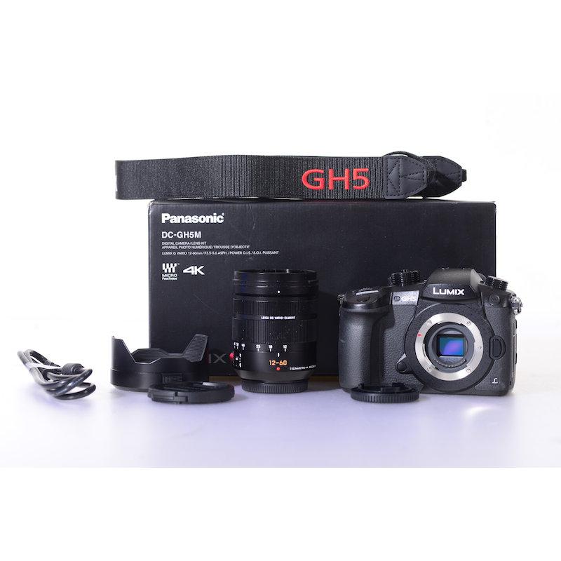 Panasonic Lumix DC-GH5M+Lumix G Vario 3,5-5,6/12-60 ASPH. Power O.I.S. #DC-GH5MEG-K