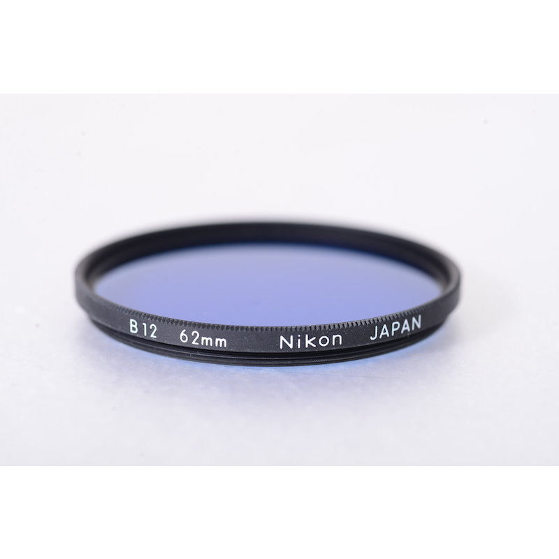 Nikon Blaufilter B12 E-62