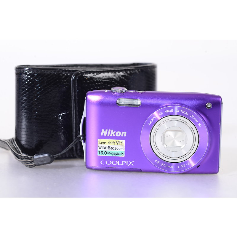 Nikon Coolpix S3300 Violett