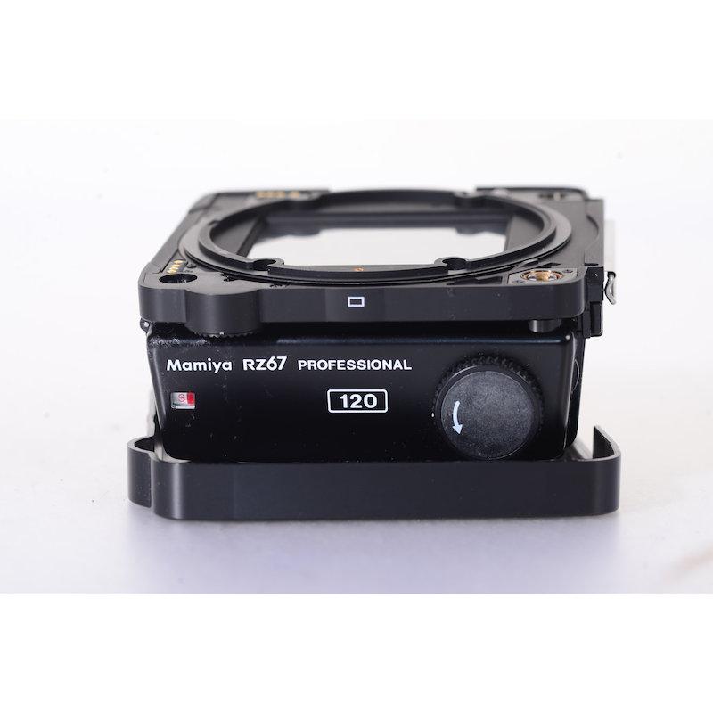 Mamiya Rollfilmkassette 120 6x7 RZ67 #524220 (Dichtungsgummi porös)