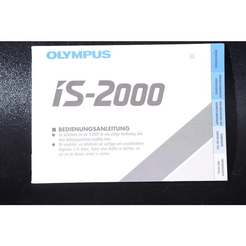 Olympus Anleitung IS-2000