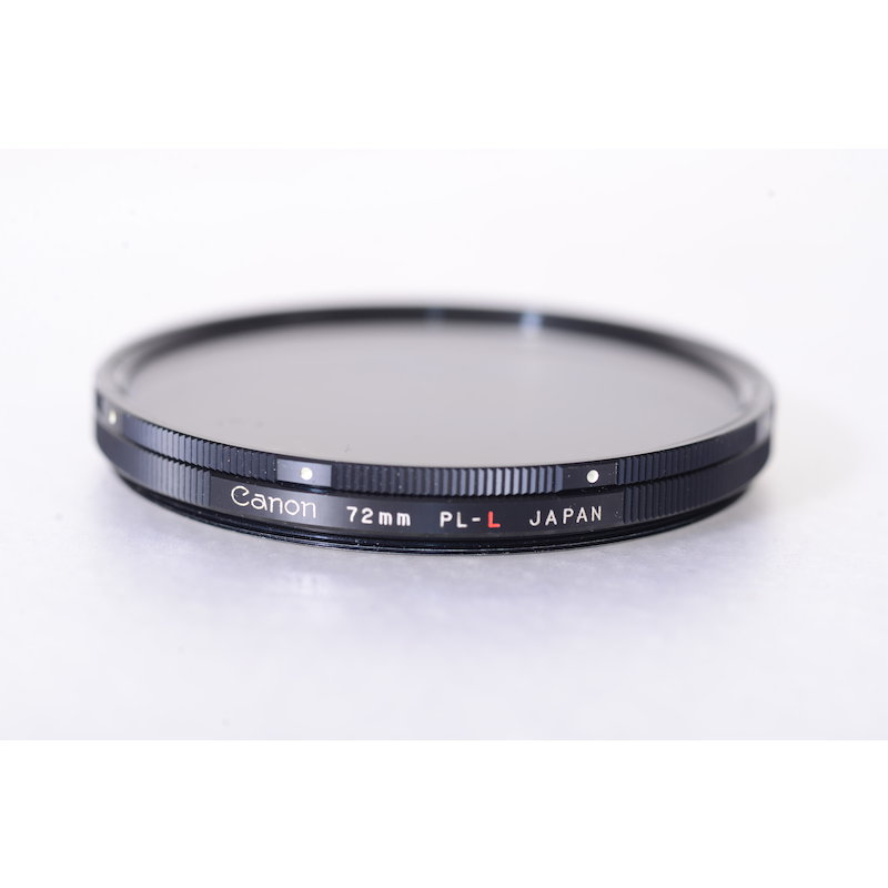 Canon Polfilter Linear PL-L E-72 (Kratzer auf Glas)